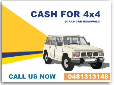 Cash for Scrap Car 4x4