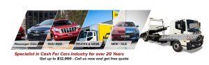 Cash for Cars Trucks Vans SUV 4WD